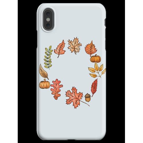 Herbstkranz iPhone XS Max Handyhülle