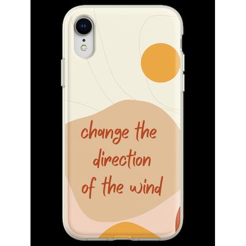 Ändern Sie die Windrichtung Flexible Hülle für iPhone XR