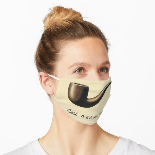 Das ist kein Rohr Maske