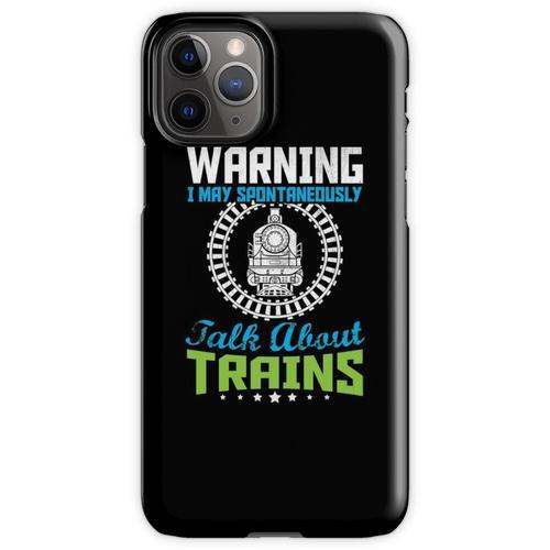 Züge Eisenbahn Lokomotive Eisenbahner Geschenk iPhone 11 Pro Handyhülle