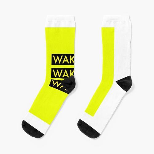 Das 1975 WAKE UP! AUFWACHEN! AUFWACHEN! Socken