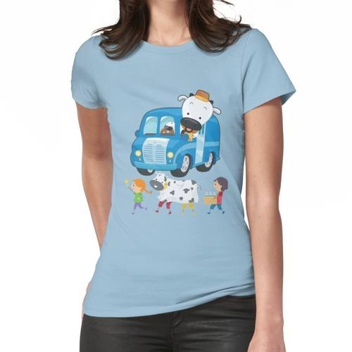 Schau dich an Kuh im Auto Frauen T-Shirt