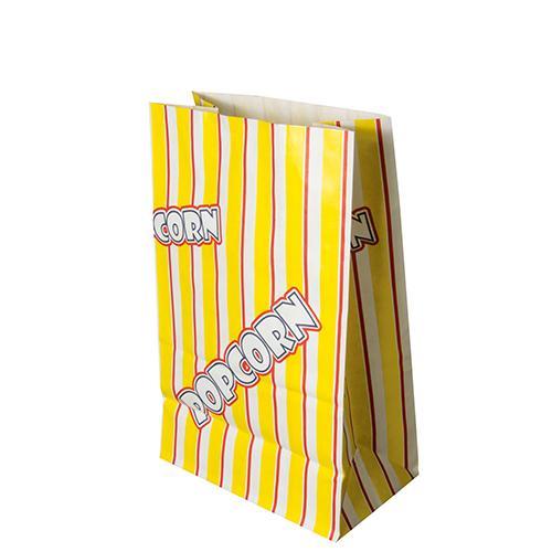 Papstar 1000 Popcorn Tüten, Pergament-Ersatz 2,5 l 22 cm x 14 cm x 8 cm Popcorn fettdicht