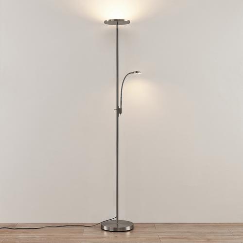 Lindby Kavi LED-Deckenfluter mit Leselicht, rund