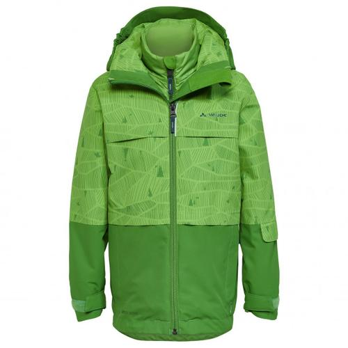 Vaude - Kid's Snow Cup 3in1 Jacket II - Doppeljacke Gr 98 grün/oliv