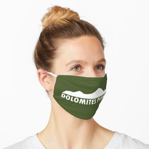Dolomiten bitte Maske