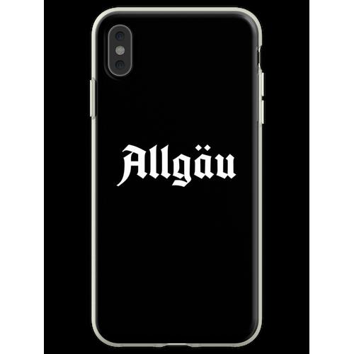 Allgäu Schriftzug - Allgäu Design - Allgäu für Allgäuer Flexible Hülle für iPhone XS Max