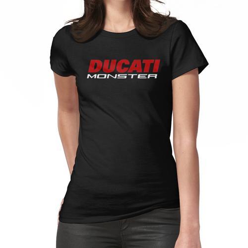 Ducati Monster von Fahrrad Frauen T-Shirt