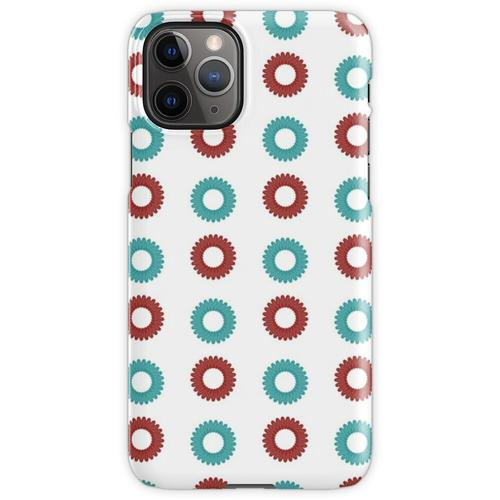Telefon-Kabel-Schnur-Spirale-Haargummi iPhone 11 Pro Handyhülle
