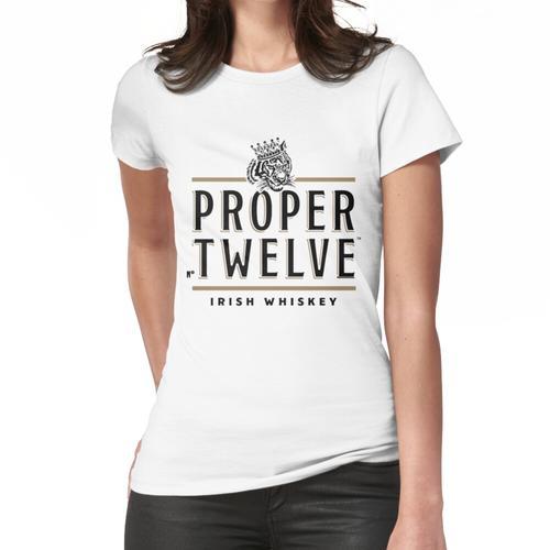 richtiger Whisky Frauen T-Shirt