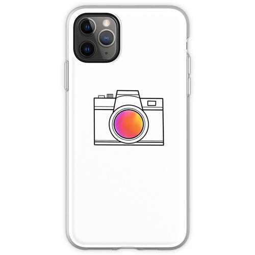 eine einfache Kamera Flexible Hülle für iPhone 11 Pro Max