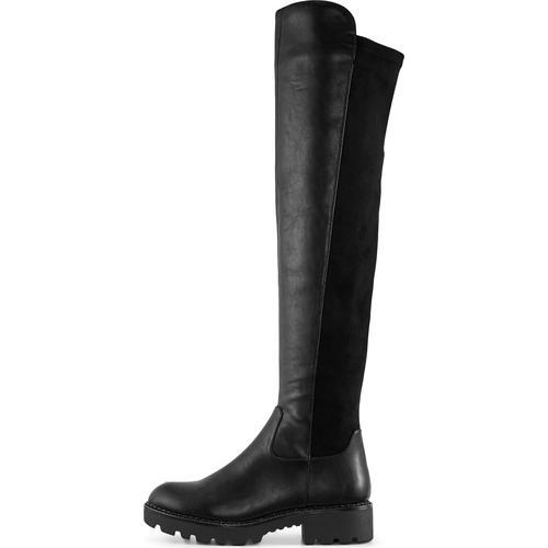 Buffalo, Overknee-Stiefel Mireya in schwarz, Stiefel für Damen Gr. 38
