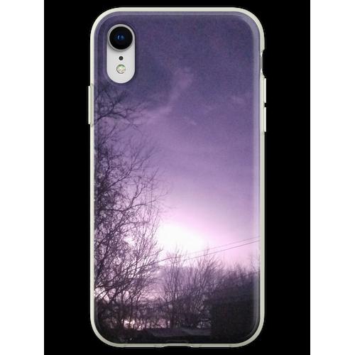 Blitzeinschläge Flexible Hülle für iPhone XR