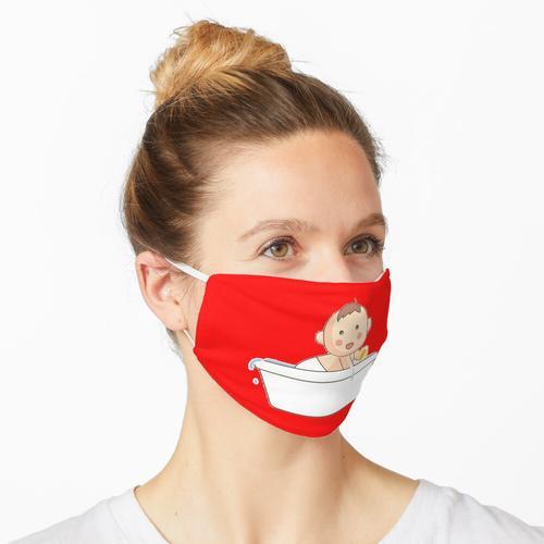 Babyparty-Spiele Baby-Badewanne Maske
