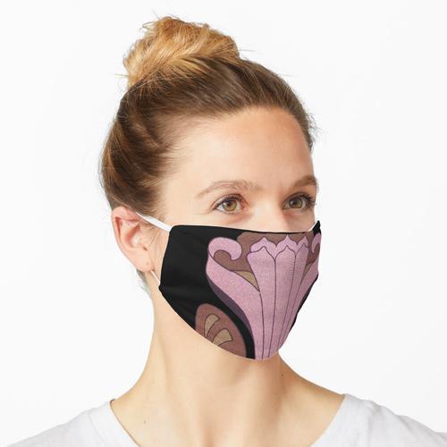 Jugendstil Deutsche Jugendstil Blumen Maske