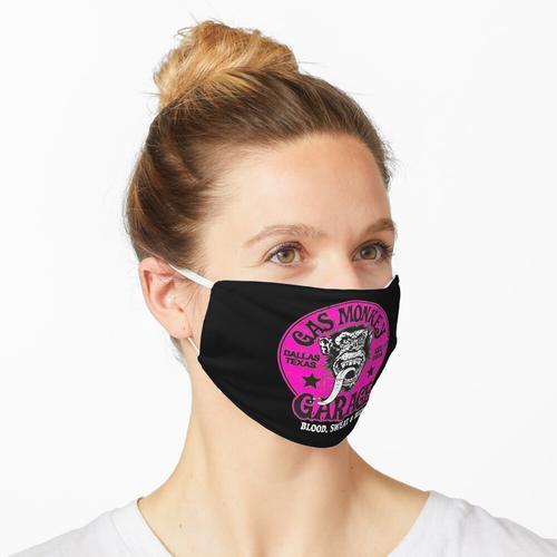 Pinker Affe Maske