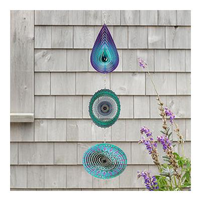 Mandala Trio Wind Spinner