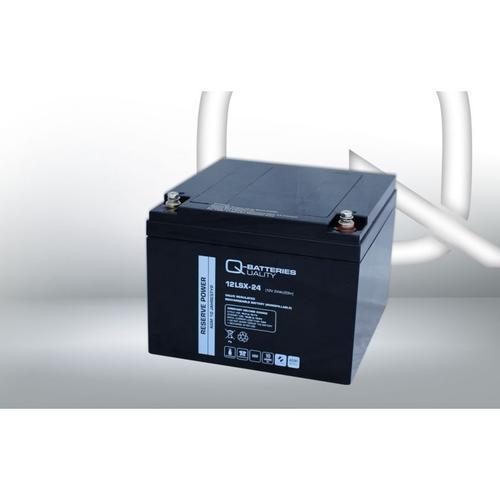 Q-Batteries 12LSX-24 12V 24Ah Blei-Vlies-Akku AGM 10 Jahre