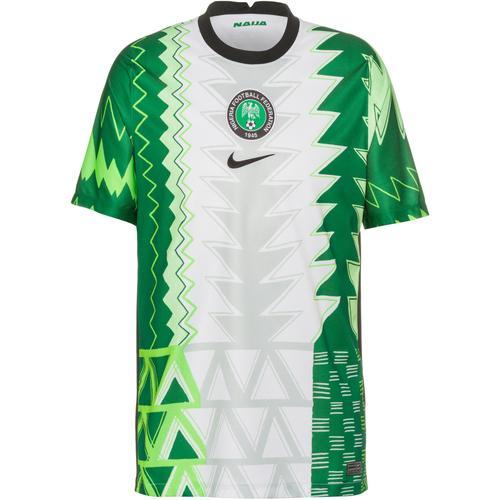 Nike Nigeria Heim Trikot Herren in white-black, Größe S
