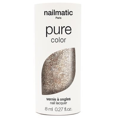 nailmatic Pure Color Paillette Or Blanc