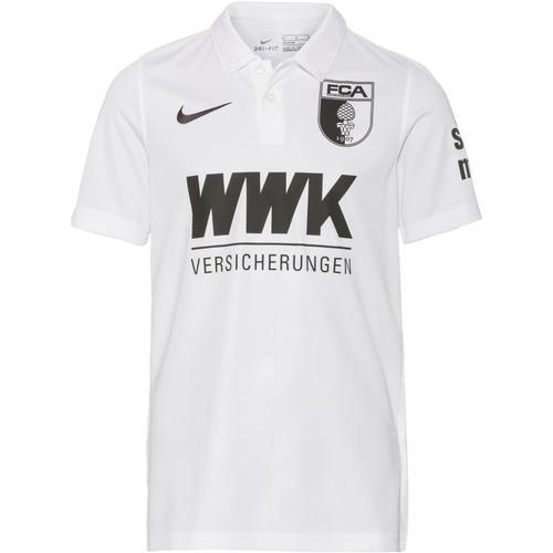 Nike FC Augsburg 20-21 Heim Trikot Kinder in weiß, Größe 140