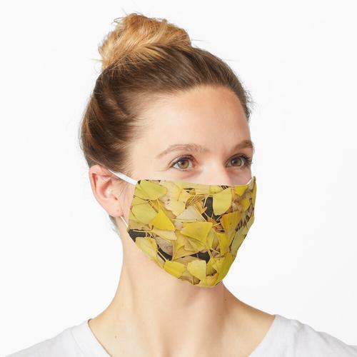 Ginkgoblätter III Maske