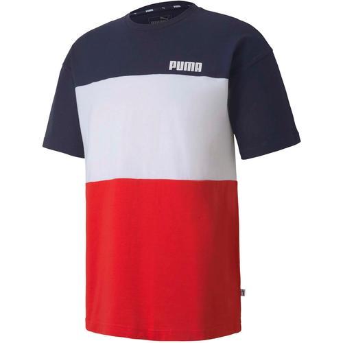 PUMA Celebration T-Shirt Herren in peacoat, Größe S