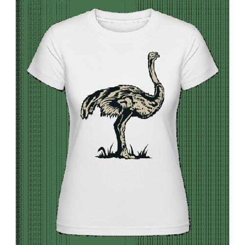 Ostrich - Shirtinator Frauen T-Shirt