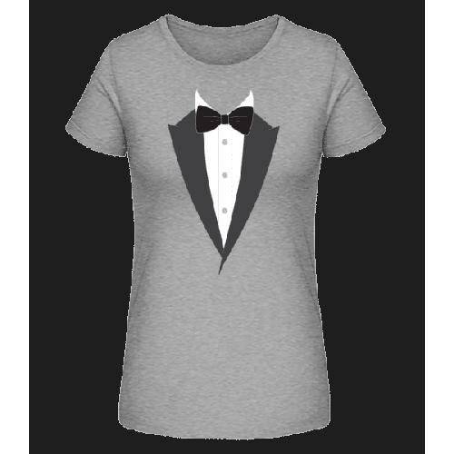Schwarze Fliege - Frauen Premium Bio T-Shirt Stanley Stella