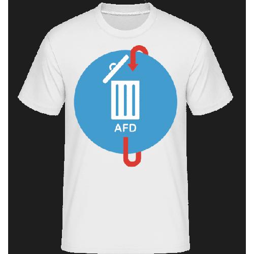 AFD Mülleimer - Shirtinator Männer T-Shirt