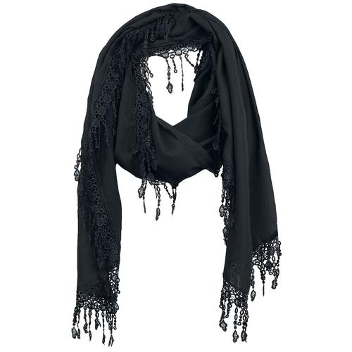 Sinister Gothic Gothic Scarf Tuch - schwarz