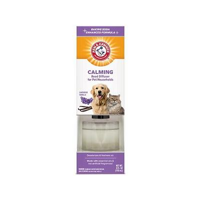 Arm & Hammer Calming Lavender Vanilla Pet Households Reed Diffuser, 4-oz jar