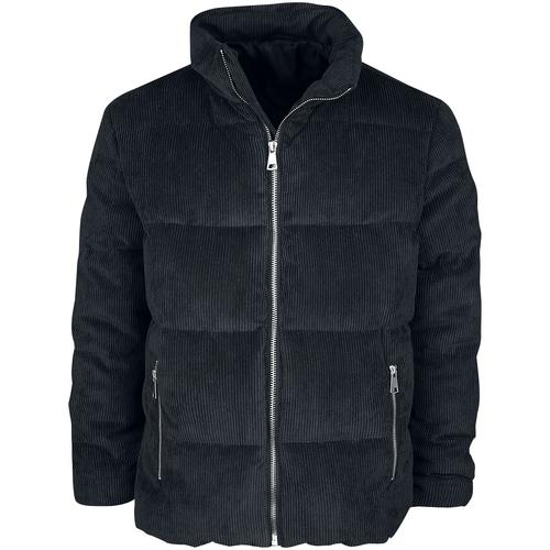 Forplay Heavy Cord Winterjacket Herren-Winterjacke - schwarz