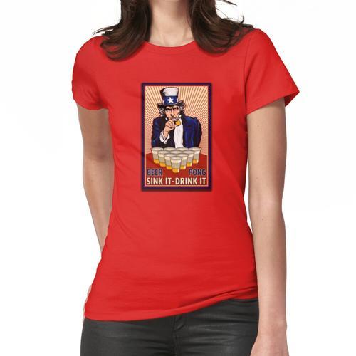 Bierpong Frauen T-Shirt