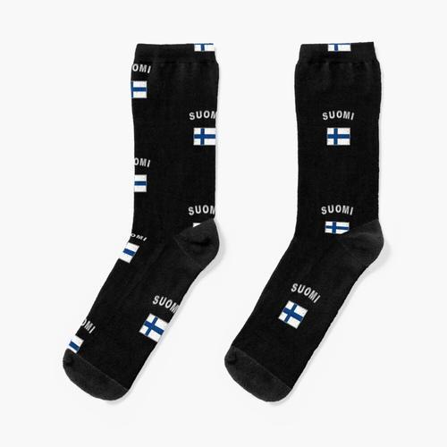 Finnland finnisch Flagge Fahne Socken