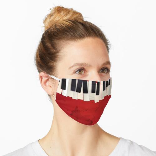Noten für Klaviermusik Maske