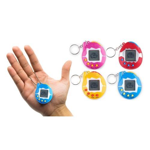 Retro-Spiel mit virtuellen Tieren: Blau/1