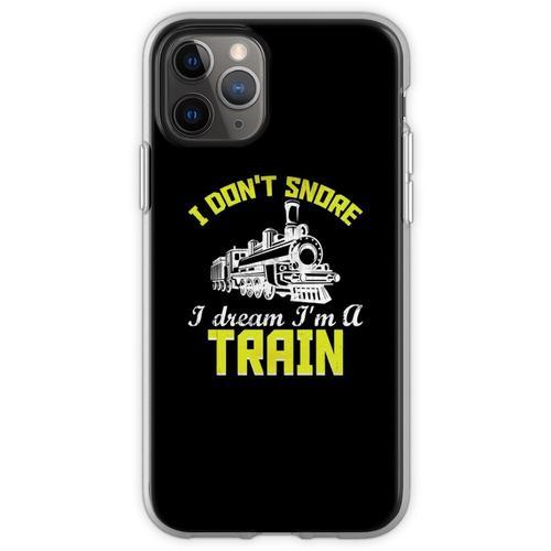 Züge Eisenbahn Lokomotive Eisenbahner Geschenk Flexible Hülle für iPhone 11 Pro