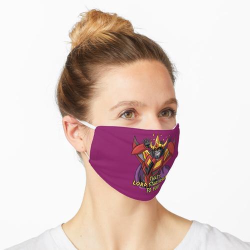 Das ist Lord Starscream für dich Maske