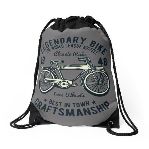 Legendäres Fahrrad - Fahrrad Rucksackbeutel
