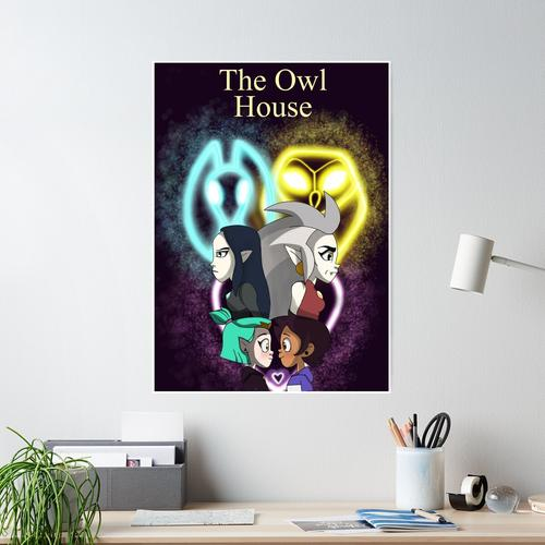The Owl House Compressed_gerbil Poster