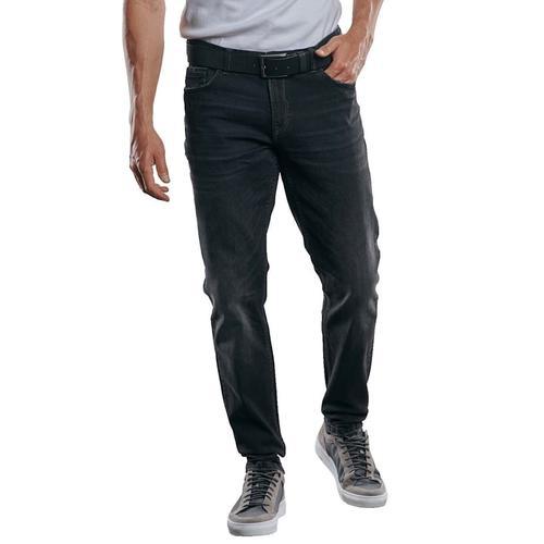 Hochelastische Jeans Engbers Schwarz