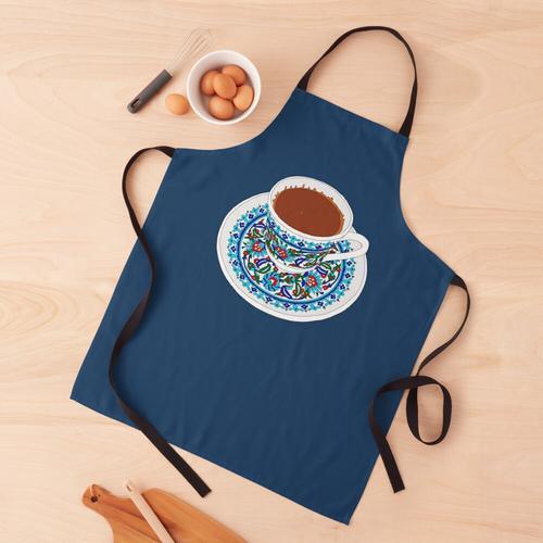 Türkischer Kaffee Schürze
