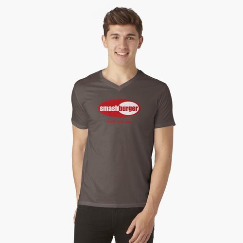 Smashburger t-shirt:vneck