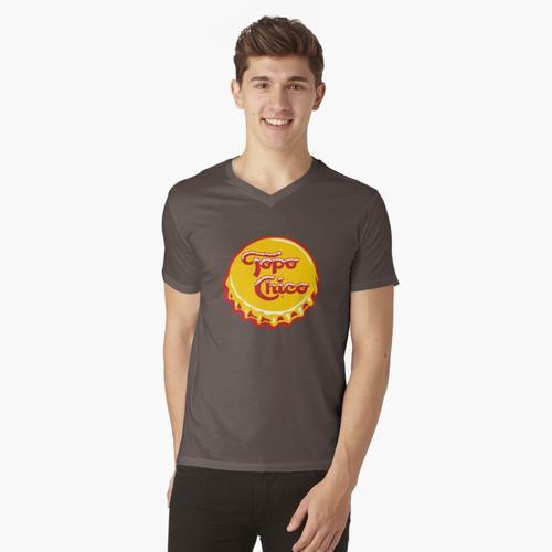 Topo Chico - Mineralwasser t-shirt:vneck