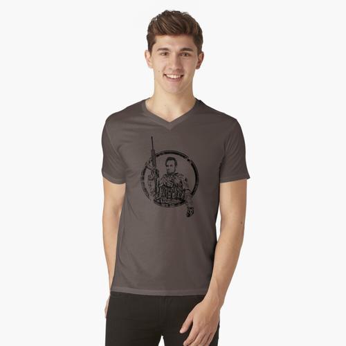 Taktischer Abe t-shirt:vneck