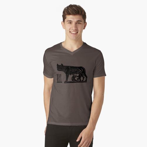 Romulus und Remus t-shirt:vneck