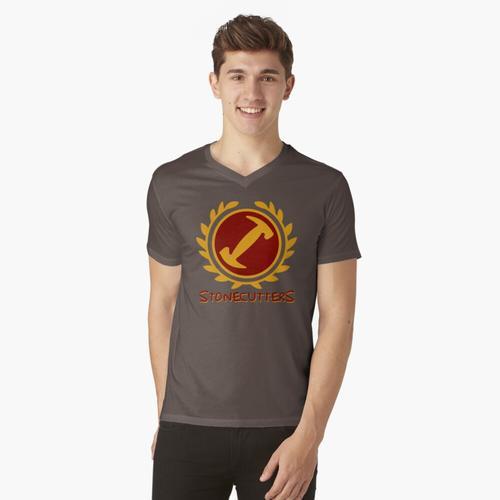 Steinmetze t-shirt:vneck