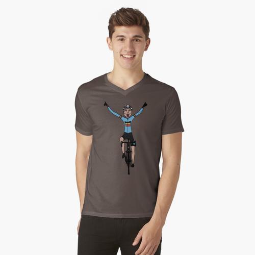 Cyclocross t-shirt:vneck