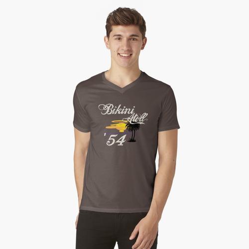 Bikini-Atoll t-shirt:vneck